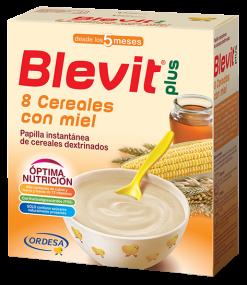 BLEVIT 8 CEREALES Y MIEL