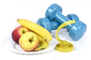 pesas y fruta