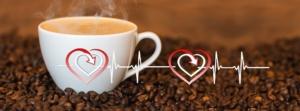 corazón y café